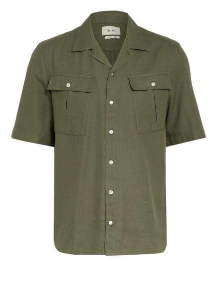 forét Resorthemd YAK Regular Fit, Farbe: OLIV (Bild 1)