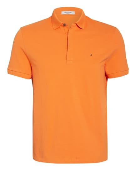 VALENTINO Piqué-Poloshirt, Farbe: ORANGE (Bild 1)