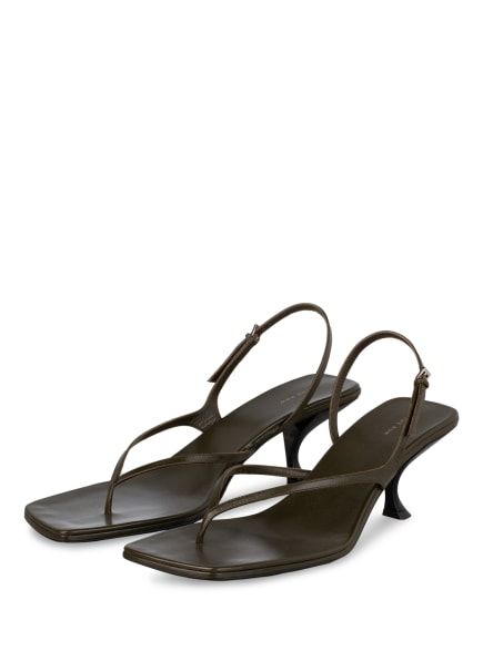 THE ROW Sandaletten CONSTANCE, Farbe: OLIV (Bild 1)