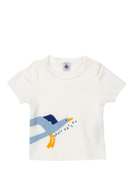 PETIT BATEAU T-Shirt, Farbe: ECRU/ HELLBLAU (Bild 1)