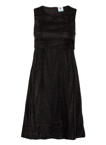 M MISSONI Kleid mit Glitzergarn, Farbe: SCHWARZ (Bild 1)