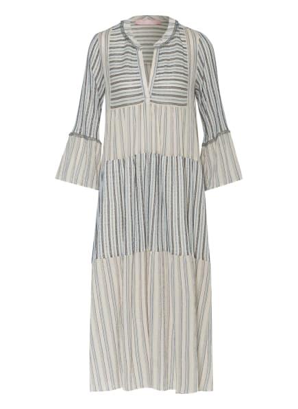 VALÉRIE KHALFON Kleid HIPPY mit 3/4-Arm , Farbe: WEISS/ HELLBLAU/ BLAU (Bild 1)