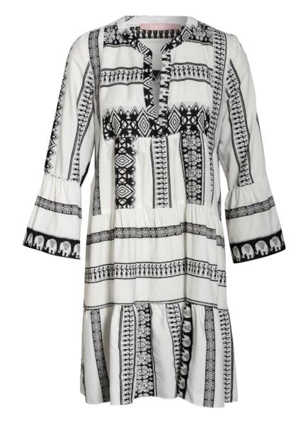 VALÉRIE KHALFON Kleid FIESTA mit 3/4-Arm , Farbe: WEISS/ SCHWARZ (Bild 1)