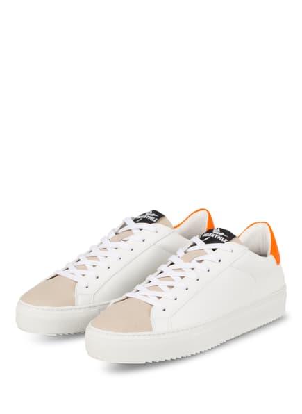 NOANYMLZ Sneaker Level O3, Farbe: WEISS/ BEIGE (Bild 1)