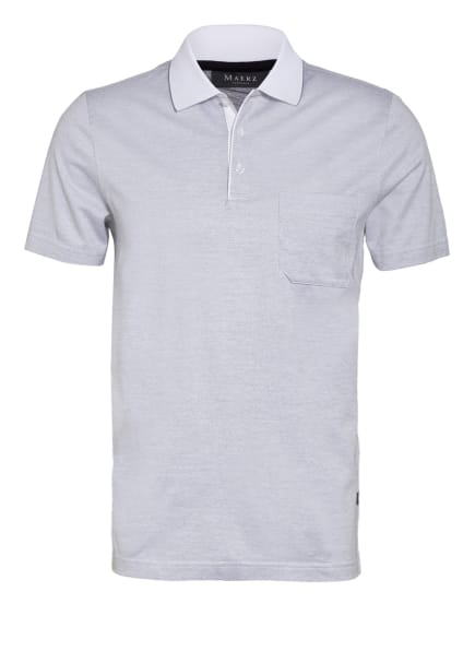 MAERZ MUENCHEN Jersey-Poloshirt , Farbe: HELLGRAU (Bild 1)