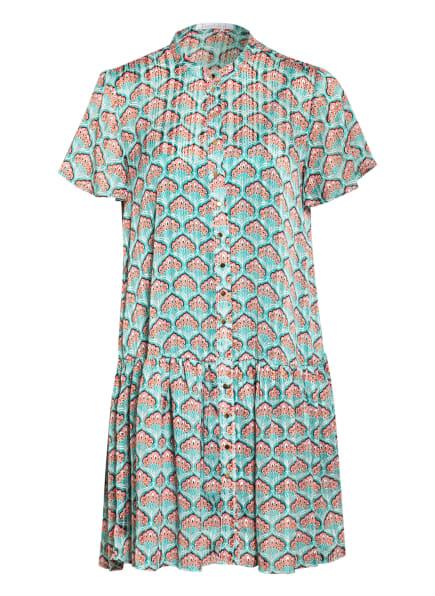 Freebird Kleid mit Glitzergarn , Farbe: TÜRKIS/ ROSA/ WEISS (Bild 1)