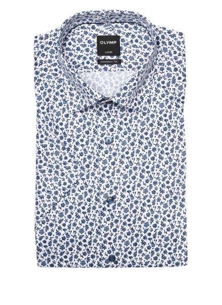 OLYMP Kurzarm-Hemd Luxor modern fit, Farbe: WEISS/ BLAU (Bild 1)