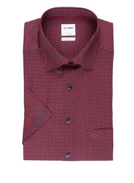 OLYMP Kurzarm-Hemd Luxor comfort fit, Farbe: DUNKELBLAU/ ROT (Bild 1)
