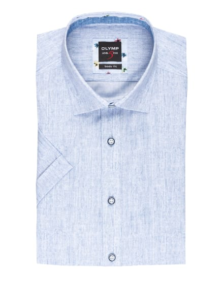 OLYMP Kurzarm-Hemd Level Five body fit, Farbe: HELLBLAU (Bild 1)