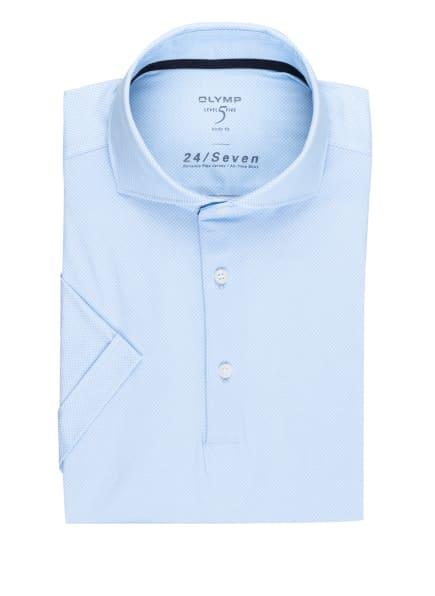OLYMP Kurzarm-Hemd Level Five 24/7 body fit aus Jersey, Farbe: HELLBLAU (Bild 1)