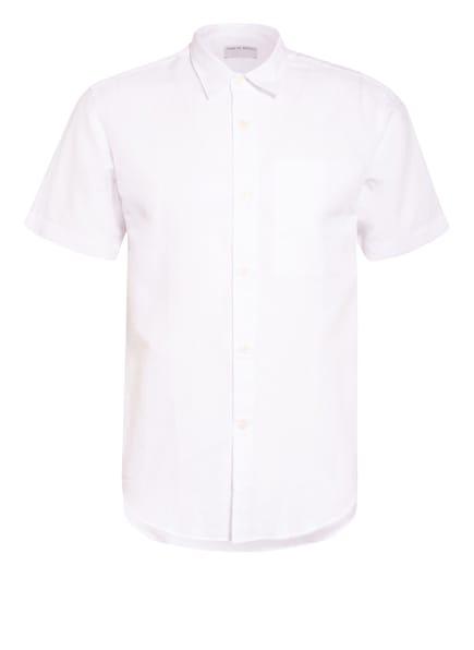 TIGER of Sweden Kurzarm-Hemd DIDON Regular Fit mit Leinen, Farbe: WEISS (Bild 1)