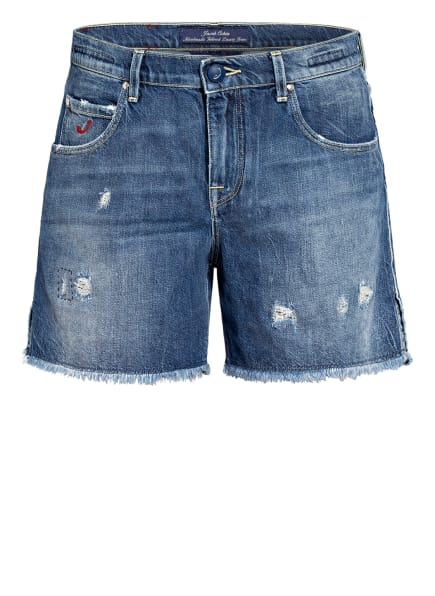 JACOB COHEN Jeans-Shorts GWEN, Farbe: W002 denim hellblau (Bild 1)