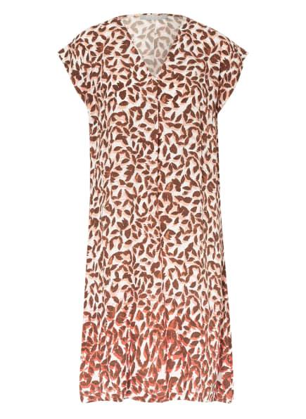 BETTY&CO Kleid, Farbe: WEISS/ BRAUN/ HELLORANGE (Bild 1)