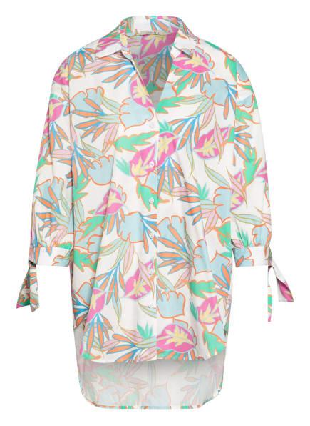 lilienfels Blusenshirt mit 3/4-Arm , Farbe: WEISS/ HELLBLAU/ PINK (Bild 1)