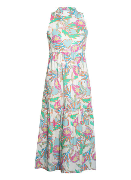 lilienfels Kleid, Farbe: WEISS/ HELLBLAU/ ORANGE (Bild 1)