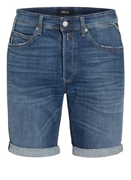 REPLAY Jeans-Shorts, Farbe: 009 MEDIUM BLUE (Bild 1)