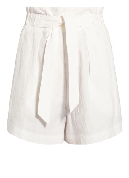 Marc O'Polo DENIM Paperbag-Shorts, Farbe: WEISS (Bild 1)
