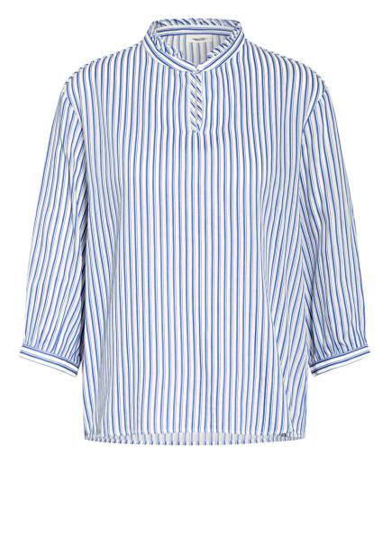 Marc O'Polo DENIM Blusenshirt mit 3/4-Arm, Farbe: BLAU/ WEISS (Bild 1)