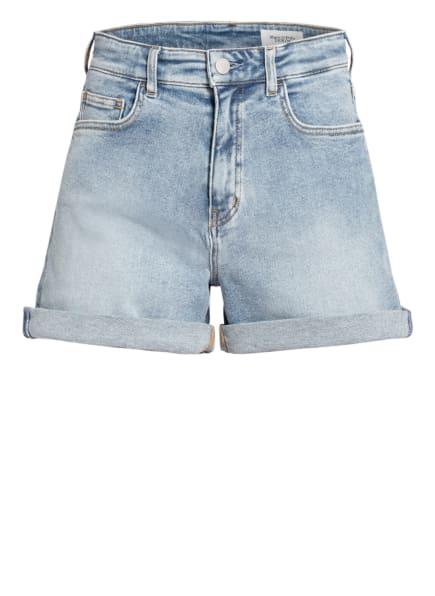 Marc O'Polo DENIM Jeans-Shorts, Farbe: P42 multi/treated light blue (Bild 1)