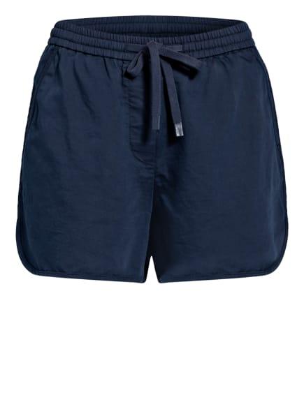 Marc O'Polo DENIM Shorts mit Leinen, Farbe: DUNKELBLAU (Bild 1)