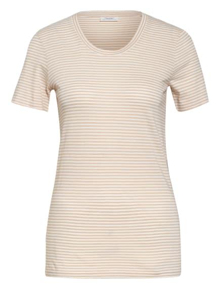 Marc O'Polo DENIM T-Shirt, Farbe: BEIGE/ WEISS (Bild 1)