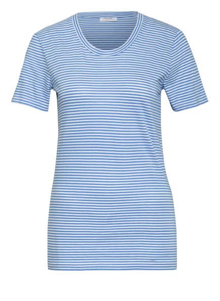Marc O'Polo DENIM T-Shirt, Farbe: HELLBLAU/ WEISS (Bild 1)