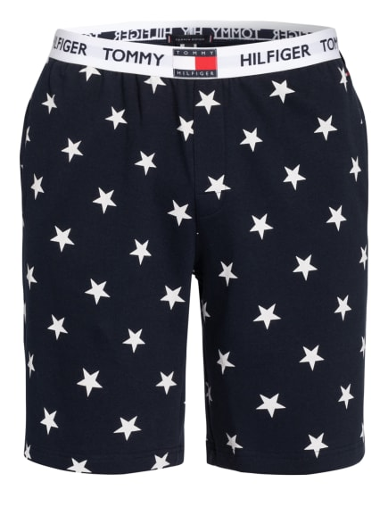 TOMMY HILFIGER Lounge-Shorts , Farbe: DUNKELBLAU/ WEISS (Bild 1)