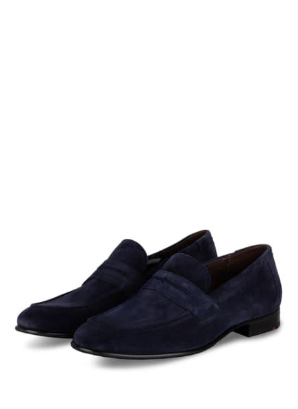 LLOYD Penny-Loafer PRESTON, Farbe: DUNKELBLAU (Bild 1)