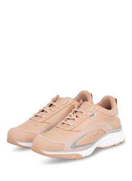 HUGO Plateau-Sneaker GILDA, Farbe: NUDE (Bild 1)