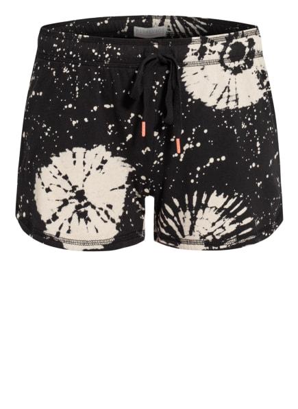 P.J.Salvage Lounge-Shorts , Farbe: SCHWARZ/ CREME (Bild 1)