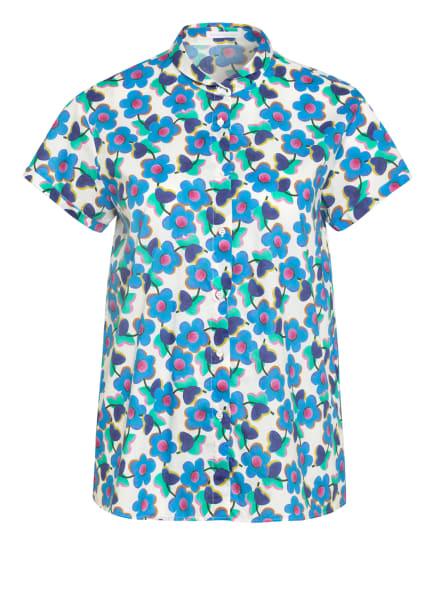 ROBERT FRIEDMAN Bluse, Farbe: HELLBLAU/ ECRU/ PINK (Bild 1)