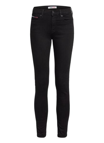 TOMMY JEANS Skinny Jeans NORA , Farbe: 1BZ Staten Black Stretch (Bild 1)