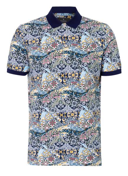 RAGMAN Piqué-Poloshirt, Farbe: DUNKELBLAU/ OLIV/ WEISS (Bild 1)