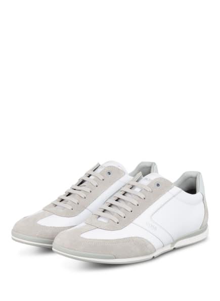 BOSS Sneaker, Farbe: WEISS/ HELLGRAU (Bild 1)