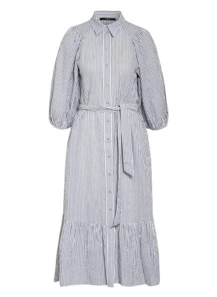 SET Hemdblusenkleid, Farbe: WEISS/ BLAU (Bild 1)