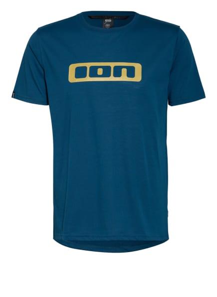 ION BIKE Radshirt SEEK DR 2.0, Farbe: BLAU/ GOLD (Bild 1)
