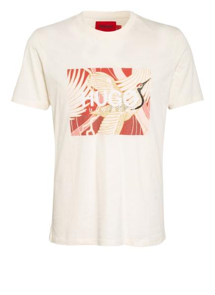 HUGO T-Shirt DOLIVE, Farbe: ECRU (Bild 1)