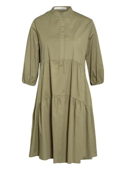 oui Kleid mit 3/4-Arm , Farbe: KHAKI (Bild 1)