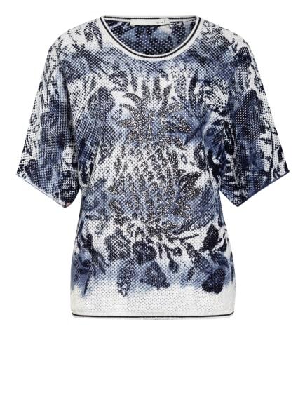 oui T-Shirt, Farbe: WEISS/ BLAU/ BLAUGRAU (Bild 1)