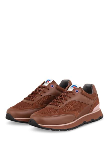BOSS Sneaker ARIGON RUNN, Farbe: BRAUN (Bild 1)