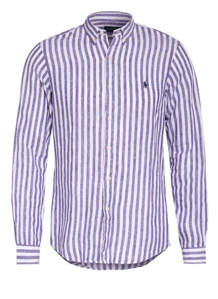 POLO RALPH LAUREN Leinenhemd Sim Fit, Farbe: BLAU/ WEISS (Bild 1)