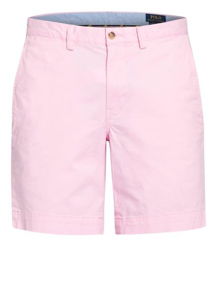 POLO RALPH LAUREN Chino-Shorts Straight Fit, Farbe: ROSA (Bild 1)