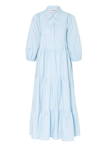 ESSENTIEL ANTWERP Kleid mit 3/4-Arm, Farbe: HELLBLAU (Bild 1)