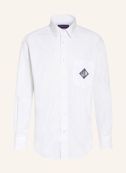 RALPH LAUREN PURPLE LABEL Hemd Comfort Fit, Farbe: WEISS (Bild 1)