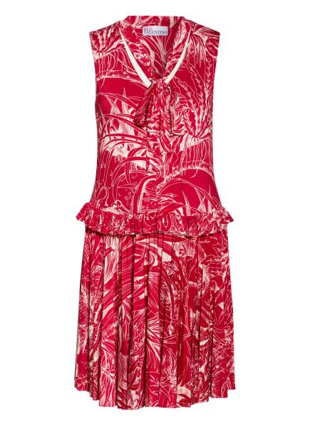 RED VALENTINO Jerseykleid, Farbe: ROT/ CREME (Bild 1)