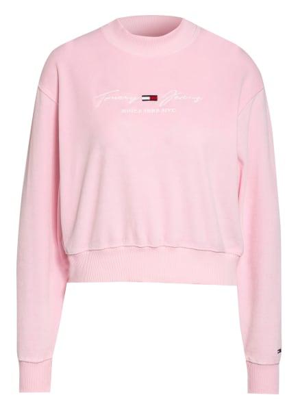 TOMMY JEANS Sweatshirt, Farbe: ROSA (Bild 1)