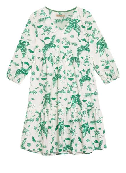 Smith&Soul Kleid mit 3/4-Arm, Farbe: WEISS/ GRÜN (Bild 1)