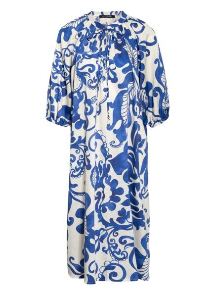 ana alcazar Kleid mit 3/4-Arm, Farbe: WEISS/ BLAU (Bild 1)