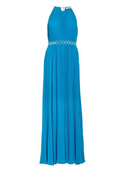 MICHAEL KORS Abendkleid mit Schmucksteinbesatz, Farbe: BLAU (Bild 1)