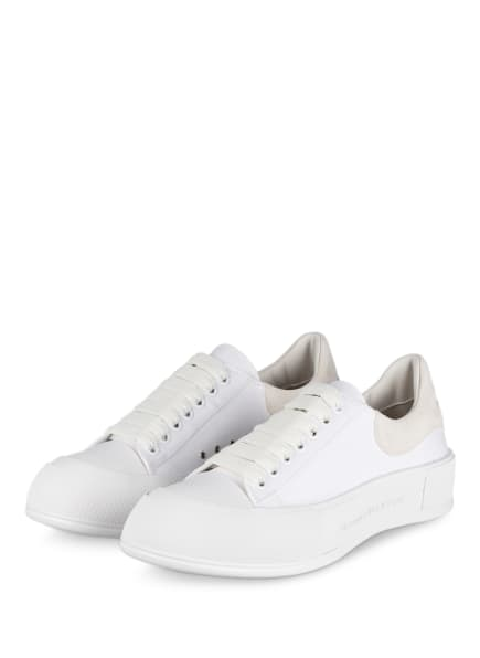 Alexander McQUEEN Sneaker PLIMSOLL, Farbe: WEISS (Bild 1)